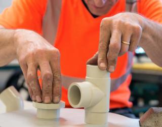 Tuyauteries plastique pression et ventilation