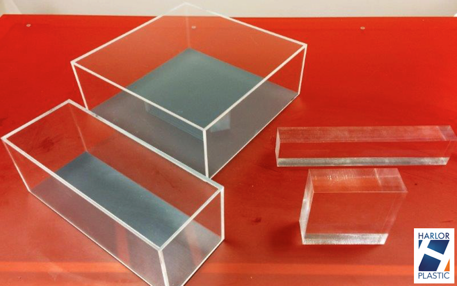 Coffret plastique plv plexi presentoir harlor for Plaque ondulee polycarbonate transparent