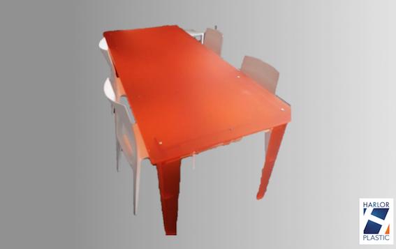 TABLE DE RÉUNION PLEXI DESIGN