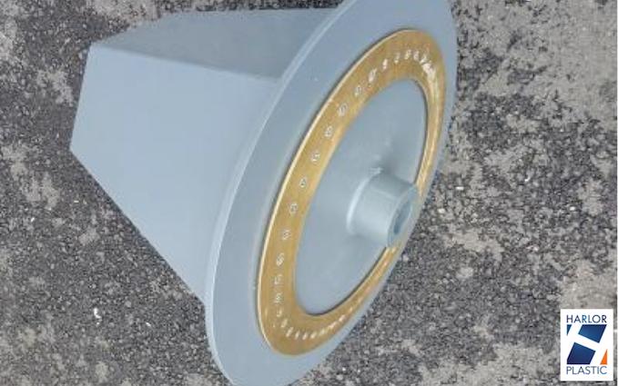 TONNEAU PVC TRAITEMENT ELECTROLYTIQUE