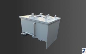 cuve tampon plastique pph harlor. Black Bedroom Furniture Sets. Home Design Ideas