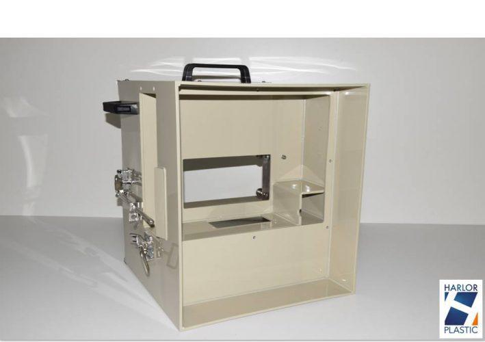 CAISSON PLASTIQUE MOBILE SUPPORT ECRAN TELE PPH