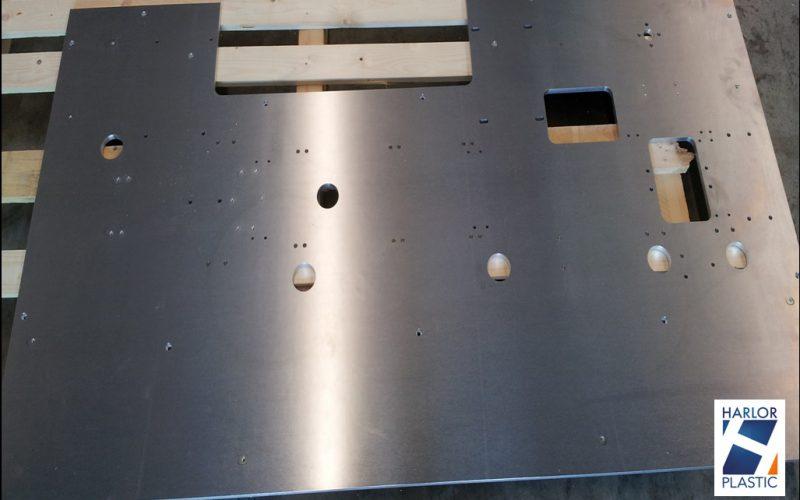Découpe et usinage de plaque aluminium grand format