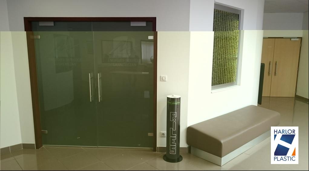 collecteur pour piles usag es grand mod le noir harlor. Black Bedroom Furniture Sets. Home Design Ideas