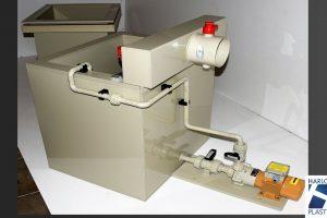 Cuve plastique pour traitement de surface des métaux