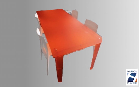 TABLE DE RÉUNION PLEXI DESIGN