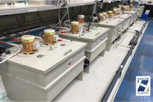 Cuves plastiques et équipements pour les entreprises de traitements de surface des métaux