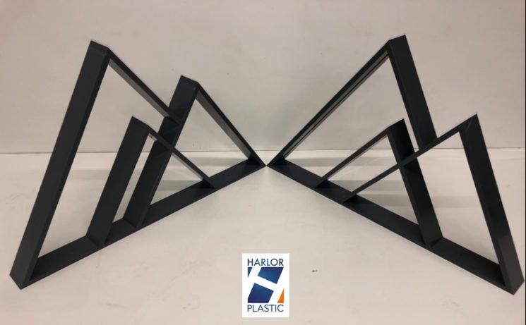 Support – Présentoir Pièce plastique en PVC